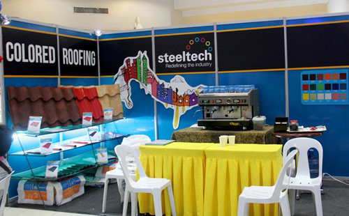 Steeltech exhibits products in BPI Housing Festival and BusinessWeek Real Expo