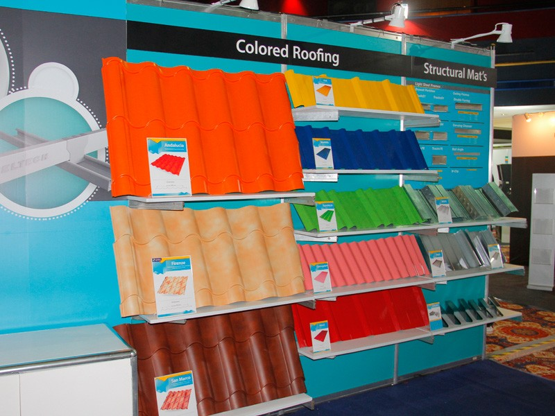 Steeltech Displays Extensive Product Portfolio At