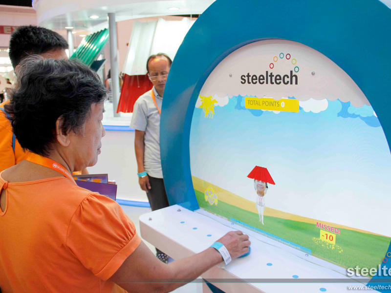 Steeltech Participates As Major Sponsor At Worldbex 2015